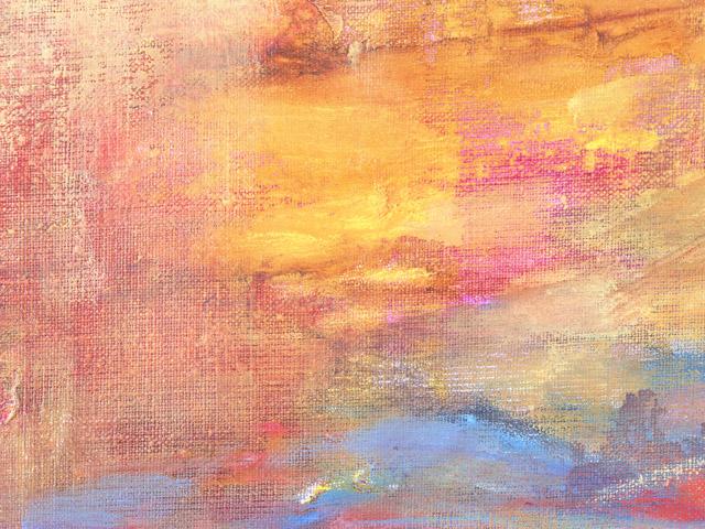 街コンレポート_油絵の美術品が一面にあります