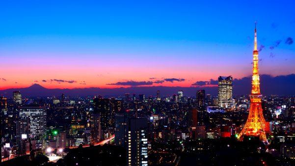 街コンレポート_夜景と東京タワー