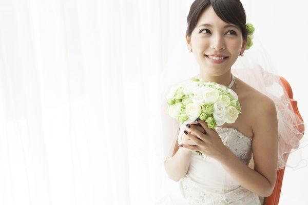 街コンレポート_幸せそうな花嫁